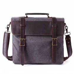 sac messager grand flap cuir compartiment ordinateur